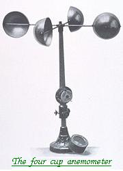 The four cup Anemometer