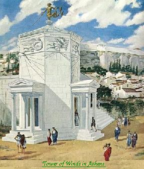 Tower of Winds in Athens