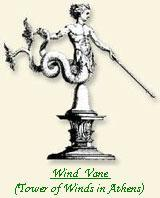 Tower of Winds in Athens - Wind Vane